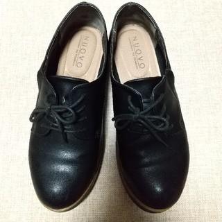 ヌォーボ(Nuovo)のNUOVO  ヌオーヴォ オックスフォード BLACK   (ローファー/革靴)