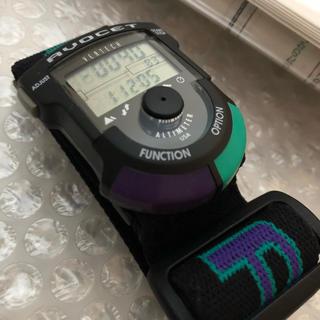 アボセット バーテック アルパイン AVOCET VERTECH 未使用 緑紫(腕時計(デジタル))