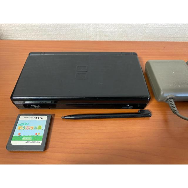 ニンテンドーDS(ニンテンドーDS)の【値下げ】ニンテンドー DS Lite + どう森 エンタメ/ホビーのゲームソフト/ゲーム機本体(携帯用ゲーム機本体)の商品写真