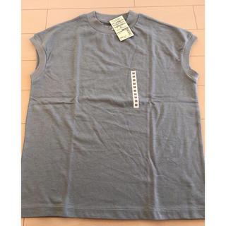 MUJI (無印良品) - フレンチスリーブTシャツ