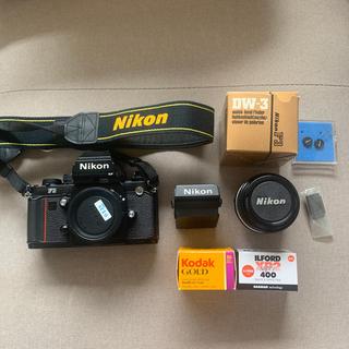 ニコン(Nikon)のnikon f3 Nikon  DW-3 ブラック  ウエストレベルファインダー(フィルムカメラ)