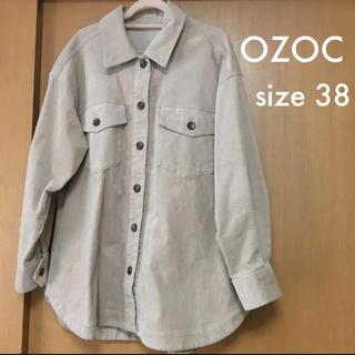 オゾック(OZOC)のOZOC オゾック CPOジャケット コーデュロイ 38(ミリタリージャケット)