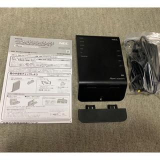 NEC - 美品!NEC 無線LAN ルーター /Aterm WG1800HP3 付属品完備
