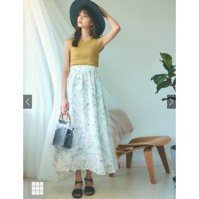 GRL(グレイル)のグレイル GRL 花柄フレアスカート レディースのスカート(ロングスカート)の商品写真
