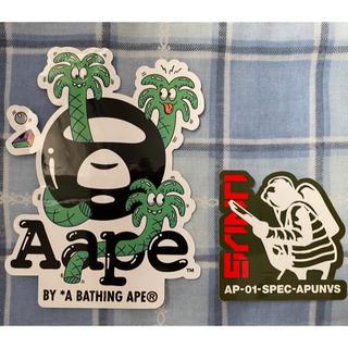 アベイシングエイプ(A BATHING APE)のAPE   AAPE   ステッカー シール(その他)