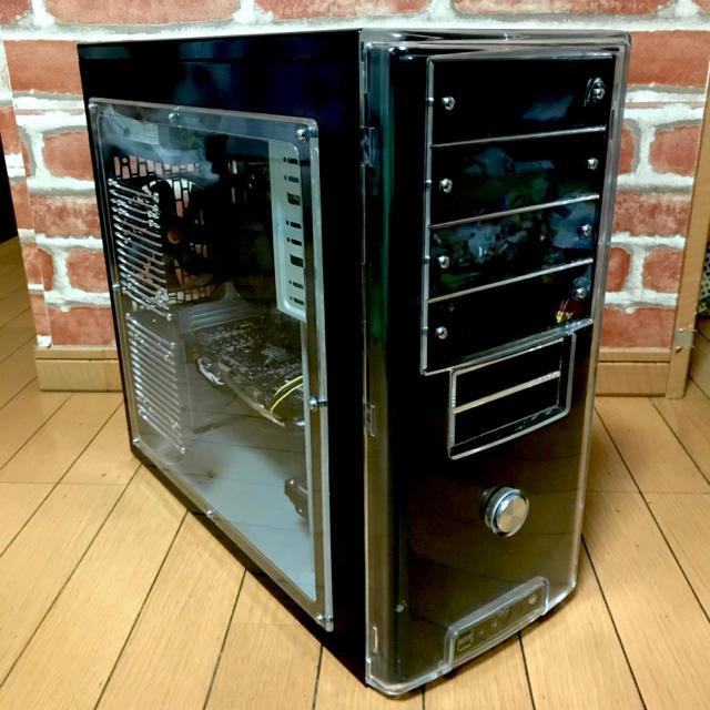 28000円から24999円値下げ i5 rx570 ゲーミングpc スマホ/家電/カメラのPC/タブレット(デスクトップ型PC)の商品写真