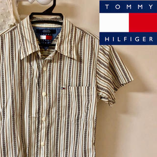 トミーヒルフィガー(TOMMY HILFIGER)の柄シャツ TOMMY HILFIGER(シャツ/ブラウス(半袖/袖なし))