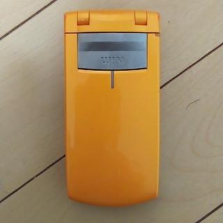 カシオ(CASIO)のガラケーau CASIO W41CA(携帯電話本体)