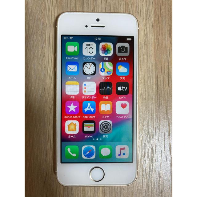 iPhone(アイフォーン)のiPhone SE 64G ゴールド 超美品 海外版 スマホ/家電/カメラのスマートフォン/携帯電話(スマートフォン本体)の商品写真