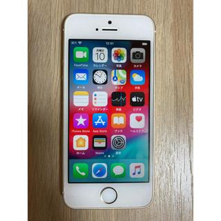 iPhone - iPhone SE 64G ゴールド 超美品 海外版