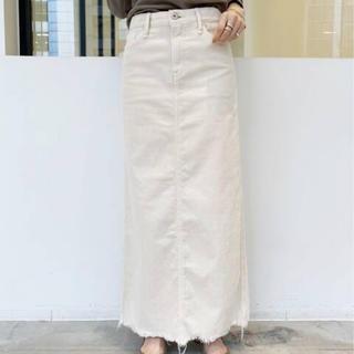 アパルトモンドゥーズィエムクラス(L'Appartement DEUXIEME CLASSE)のUPPER HIGHTS/アッパーハイツ Corduroy Long スカート(ロングスカート)