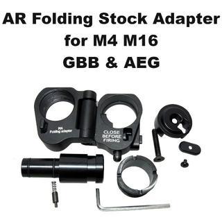 AR フォールディング ストック アダプター for GBB 1289r(カスタムパーツ)