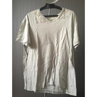 マルタンマルジェラ(Maison Martin Margiela)のMaison Margiela マルジェラ エイズ Tシャツ AIDS Lサイズ(Tシャツ/カットソー(半袖/袖なし))