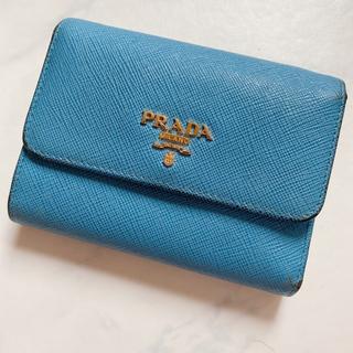 PRADA - プラダ サフィアーノ 三つ折り財布