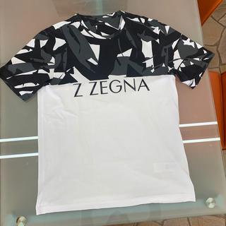 エルメネジルドゼニア(Ermenegildo Zegna)のジーゼニア tシャツ L ゼニア(Tシャツ/カットソー(半袖/袖なし))