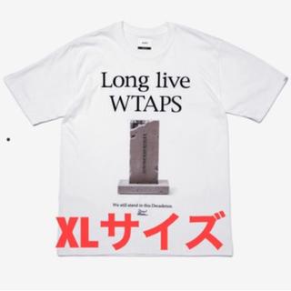 ダブルタップス(W)taps)の20SS WTAPS MONOLITH XL 白(Tシャツ/カットソー(半袖/袖なし))