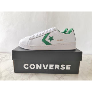 CONVERSE -  Converse  コンバース プロ レザー グリーン スニーカー 新品