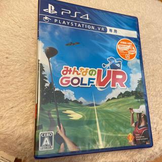 プレイステーションヴィーアール(PlayStation VR)のみんなのGOLF VR PS4(家庭用ゲームソフト)