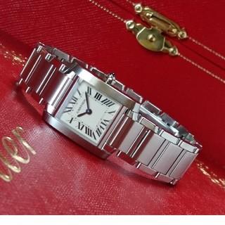 カルティエ(Cartier)の専用☆美品☆ OH済 カルティエ タンクフランセーズ 3217 スティール SM(腕時計)