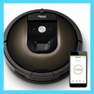 アイロボット(iRobot)のiRobot社 ロボット掃除機 ルンバ980 ダークグレー R980060(掃除機)