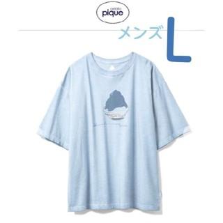ジェラートピケ(gelato pique)のジェラートピケ シャツ かき氷 メンズ(Tシャツ/カットソー(半袖/袖なし))