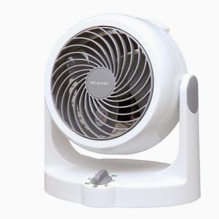 アイリスオーヤマ - アイリスオーヤマ サーキュレーター 首振り固定 8畳 パワフル送風 ホワイト
