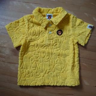 A BATHING APE - BAPE KIDS 80センチ パイルポロシャツ