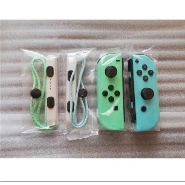 Nintendo Switch(ニンテンドースイッチ)の新品Joy-Con ジョイコン (L)/(R) あつまれ どうぶつの森 カラー エンタメ/ホビーのゲームソフト/ゲーム機本体(その他)の商品写真