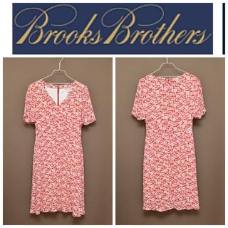 Brooks Brothers - ブルックスブラザーズ 花柄  ワンピース 美品