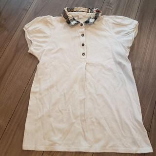 バーバリー(BURBERRY)の最終値下げ BURBERRY 女の子ポロシャツ 140cm(Tシャツ/カットソー)