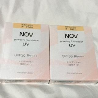 ノブ(NOV)のパウダリーファンデーション UV(ファンデーション)