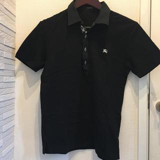 BURBERRY BLACK LABEL - バーバリーポロシャツ
