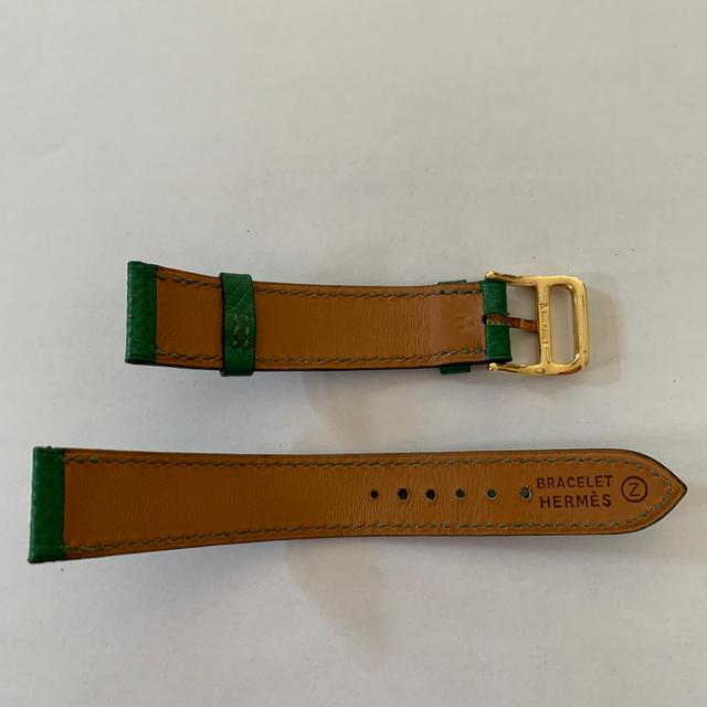 Hermes(エルメス)のエルメス Hウォッチの革ベルト レディースのファッション小物(腕時計)の商品写真