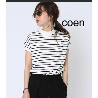 coen - coen コーエン USAコットン ハイネックTシャツ