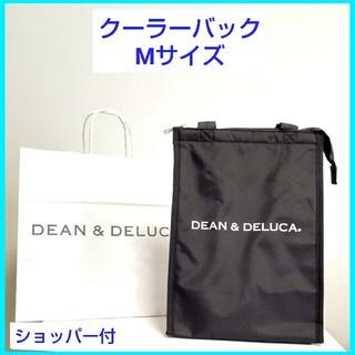 ディーンアンドデルーカ(DEAN & DELUCA)のディーン&デルーカ/クーラーバック ブラック(M)保冷ランチトートバッグ/新品(弁当用品)