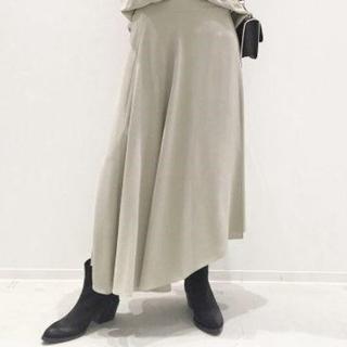 アパルトモンドゥーズィエムクラス(L'Appartement DEUXIEME CLASSE)のcol pierrot ラップスカート 完売アパルトモン購入(ロングスカート)