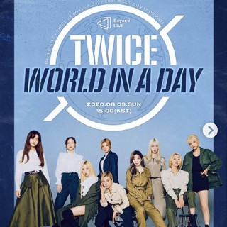 ❤️TWICE❤️Beyond LIVE WORLD IN A DAY DVD