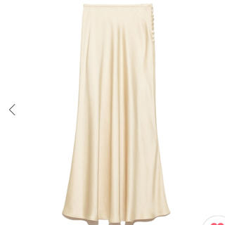 snidel - 完売色🌷新品タグ付き🍀スナイデル サテンロングスカート