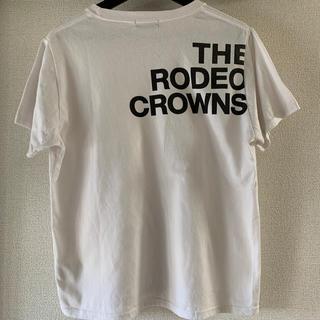 ロデオクラウンズ(RODEO CROWNS)のRODEO CROWNS レディース  Tシャツ(Tシャツ(半袖/袖なし))