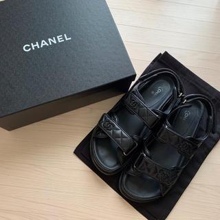 CHANEL - 完売品 シャネル CHANEL フットベッドサンダル 41