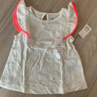 ベビーギャップ(babyGAP)の新品未使用 GAP Tシャツ 12-18m 80cm(Tシャツ)