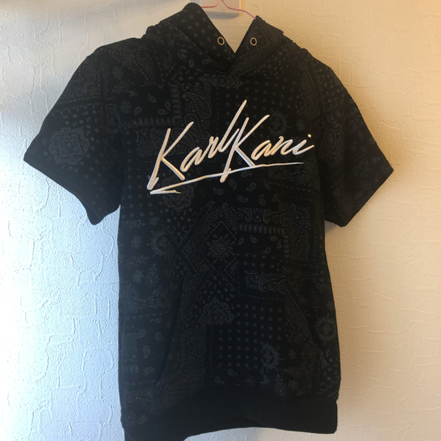 Karl Kani(カールカナイ)のカールカナイ 半袖パーカー 処分セール レディースのトップス(パーカー)の商品写真