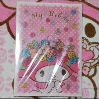 マイメロディ - サンリオマイメロちゃんのA5クリアファイル&ノートセット