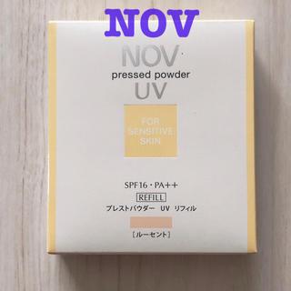 ノブ(NOV)の〘 新品未使用〙NOVプレストパウダーUV リフィル(フェイスパウダー)