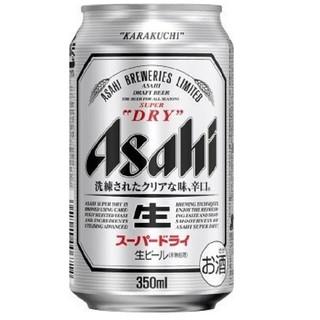 アサヒ - 【送料込み】アサヒ ビール アサヒ スーパードライ 350ml×12本