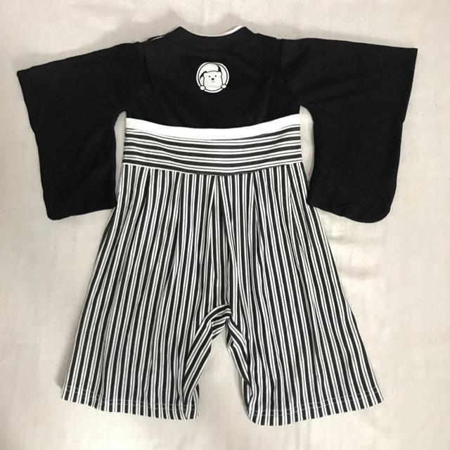 袴ロンパース 70cm キッズ/ベビー/マタニティのベビー服(~85cm)(ロンパース)の商品写真