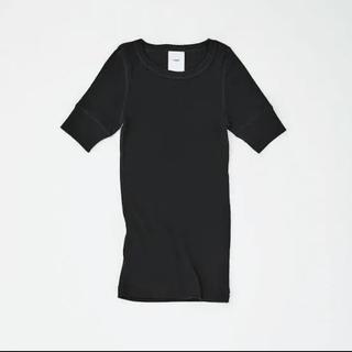 ハイク(HYKE)のTHREE HYKE N.HOOLYWOOD トリプルコラボT BLACK(Tシャツ(半袖/袖なし))