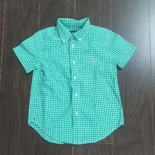 ラルフローレン(Ralph Lauren)の【USED】ラルフローレン  ボタンダウンシャツ  4T(ブラウス)