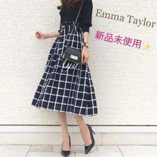 フレイアイディー(FRAY I.D)のEmma Taylor フレアスカート(ロングスカート)