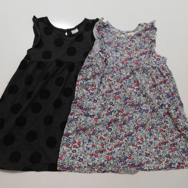 H&M(エイチアンドエム)のH&M ワンピースセット キッズ/ベビー/マタニティのキッズ服女の子用(90cm~)(ワンピース)の商品写真